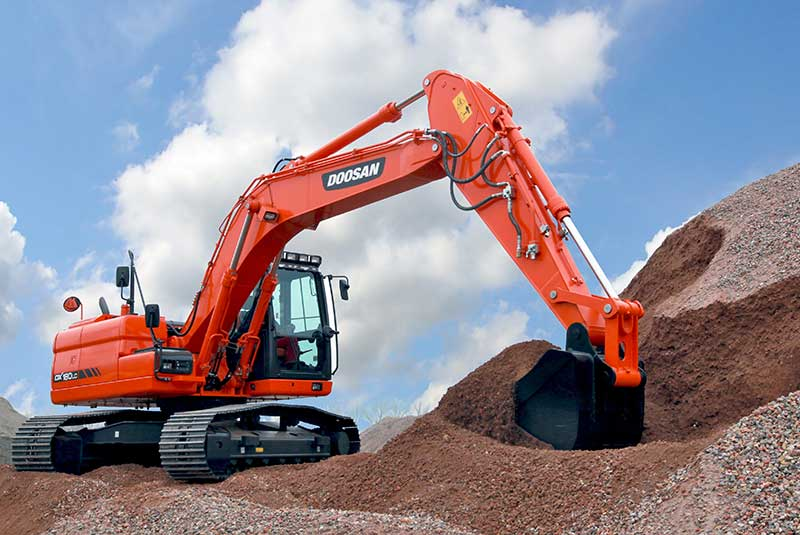 Used Diesel Trucks >> Doosan DX180LC Crawler Excavator - SA Lift & Loader