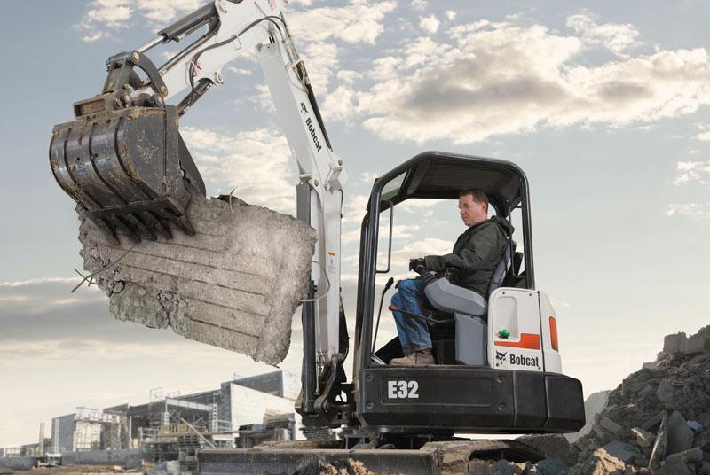 Bobcat E32 Compact Excavator - SA Lift & Loader