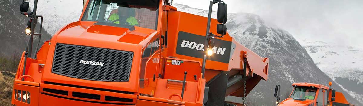 Doosan Moxy Dump Trucks