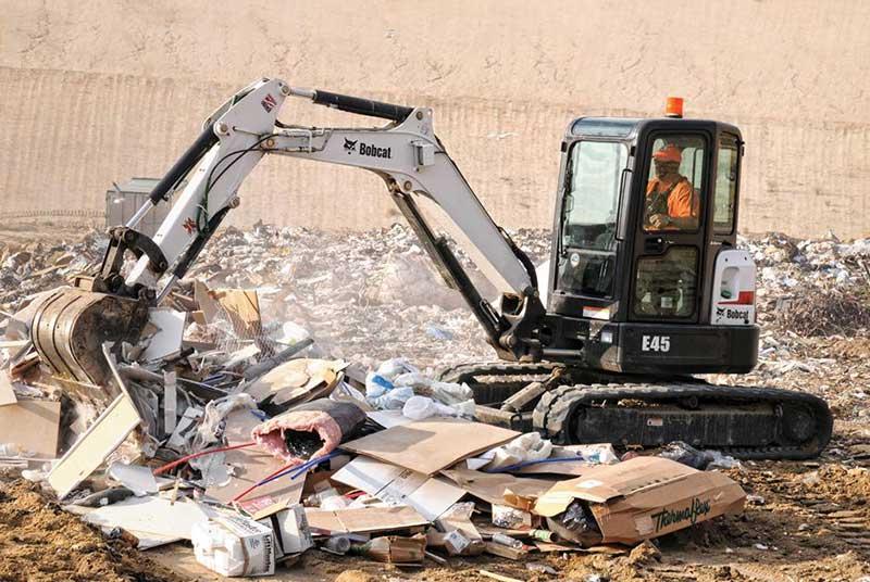 Used Utility Trucks >> Bobcat e45 Compact Excavator - SA Lift & Loader