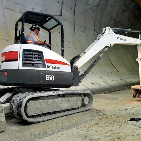 Bobcat e50 Compact Excavator - SA Lift & Loader
