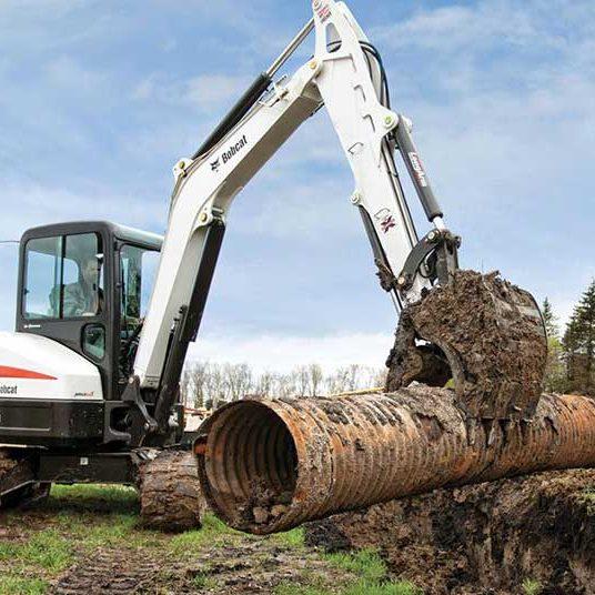 Bobcat e55 Compact Excavator - SA Lift & Loader