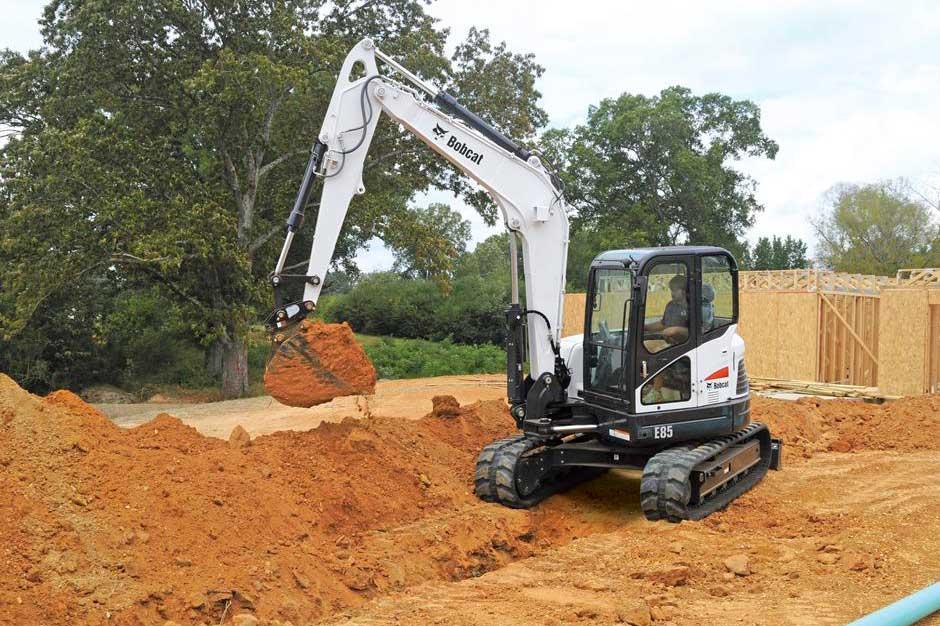 Bobcat e85 Compact Excavator - SA Lift & Loader